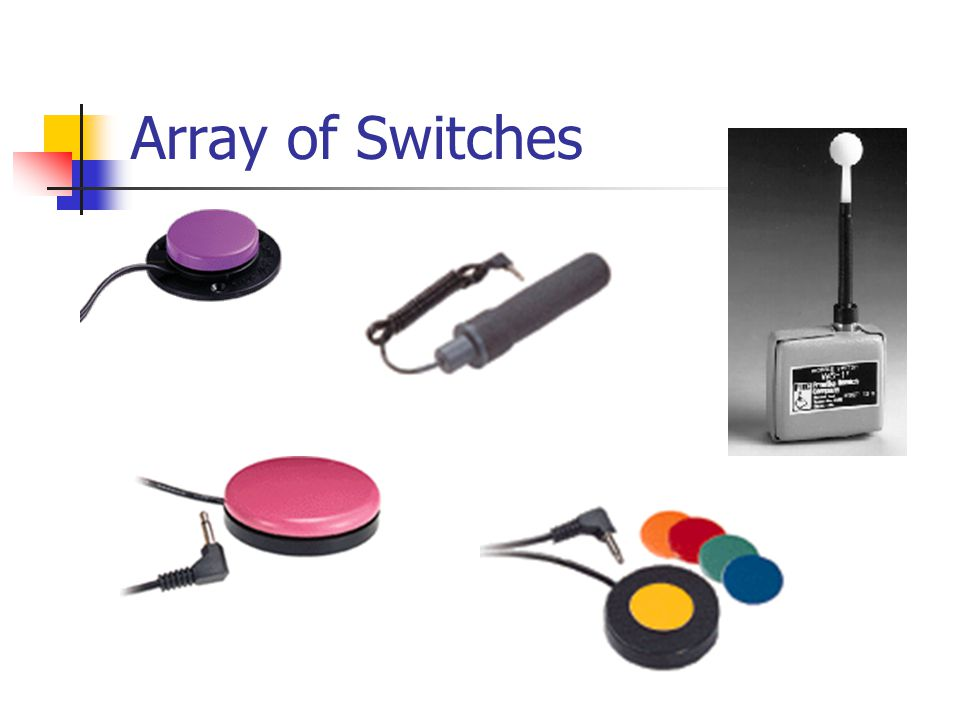 Array of Switches