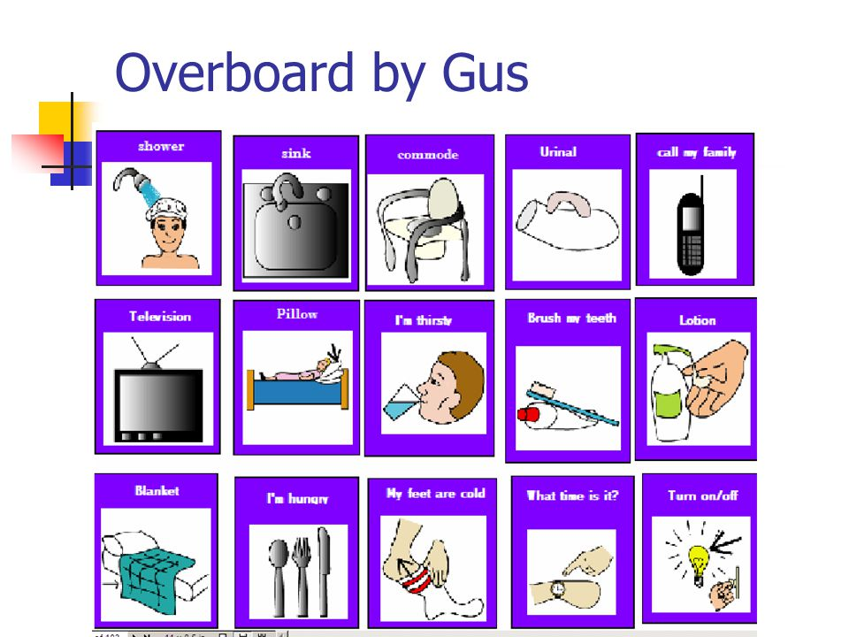 Overboard by Gus