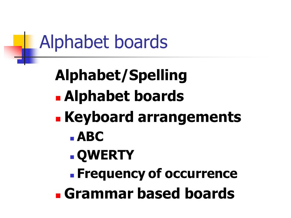 Alphabet boards Alphabet/Spelling Alphabet boards