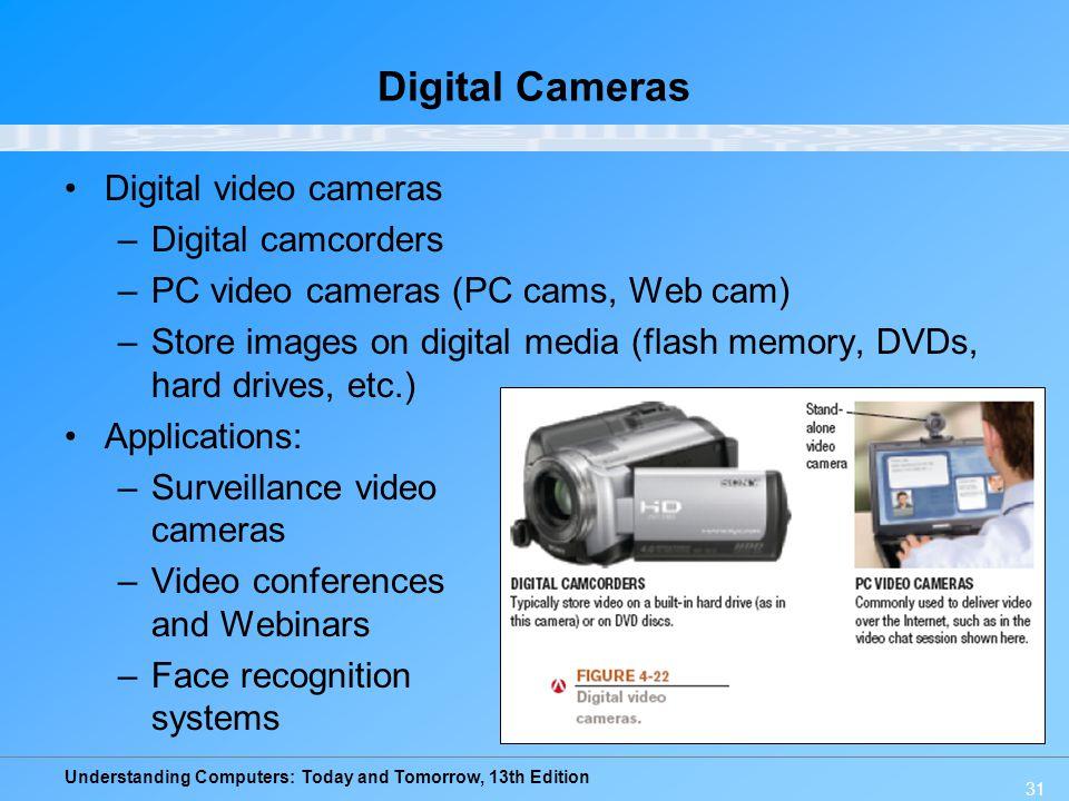 Digital Cameras Digital video cameras Digital camcorders