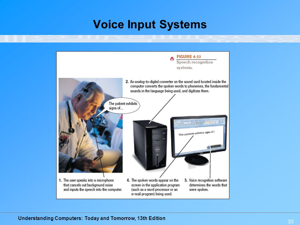 Voice Input Systems