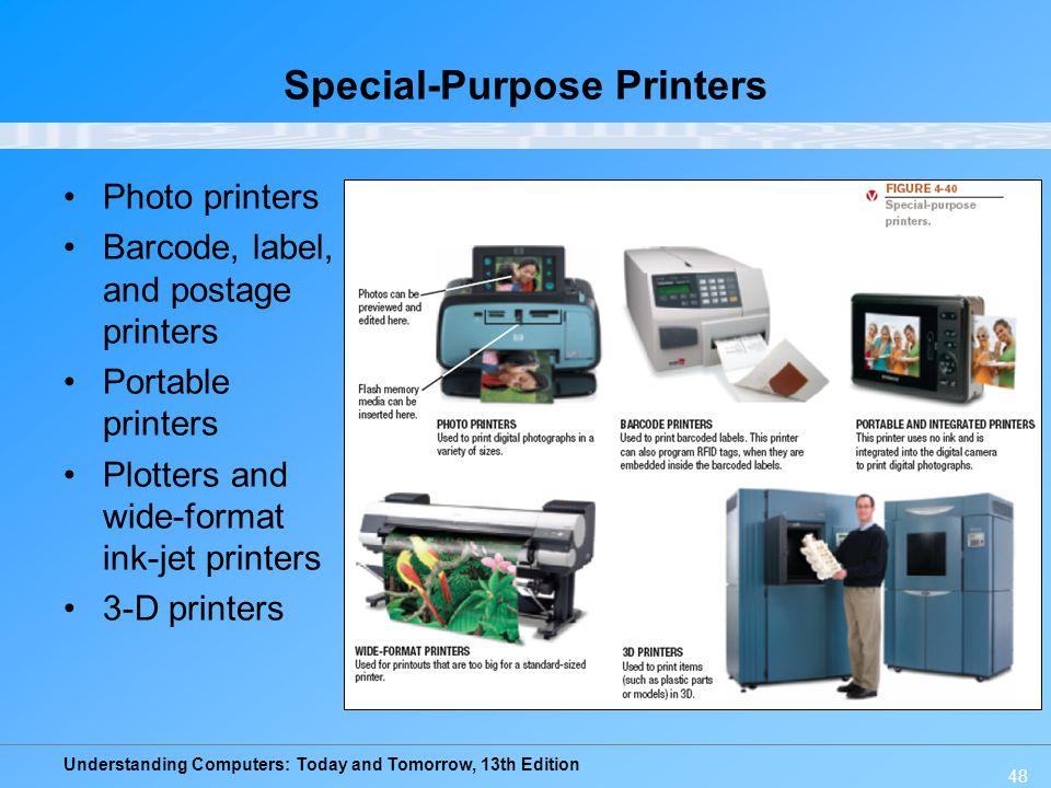 Special-Purpose Printers