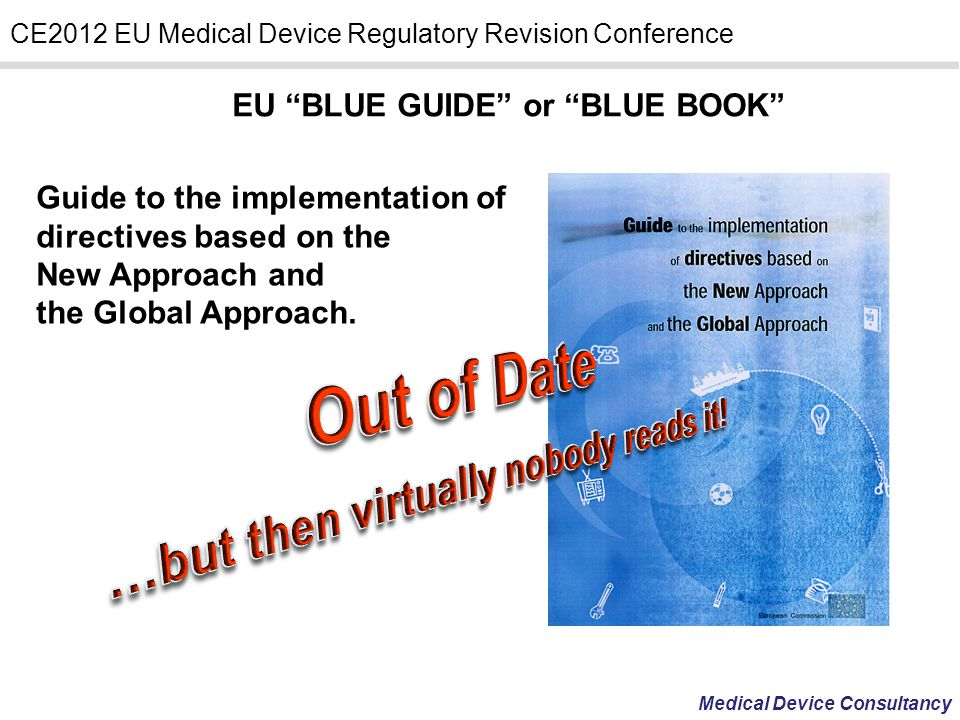 EU BLUE GUIDE or BLUE BOOK