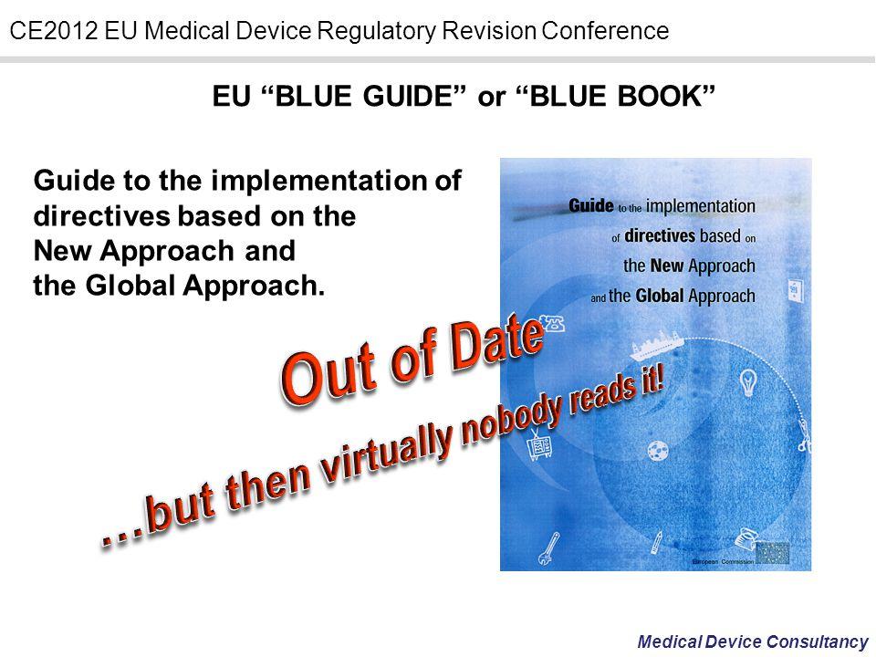 EU BLUE GUIDE or BLUE BOOK