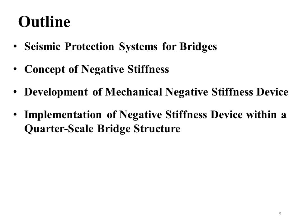 Outline Seismic Protection Systems for Bridges
