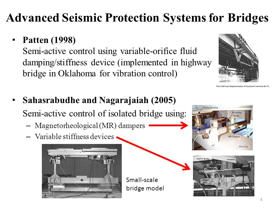 Advanced Seismic Protection Systems for Bridges
