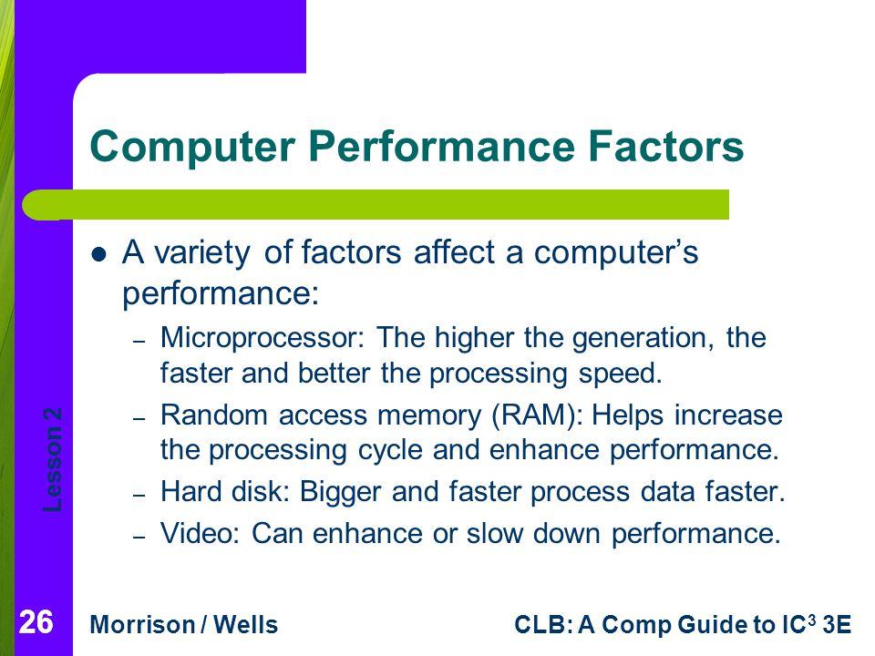 Computer Performance Factors