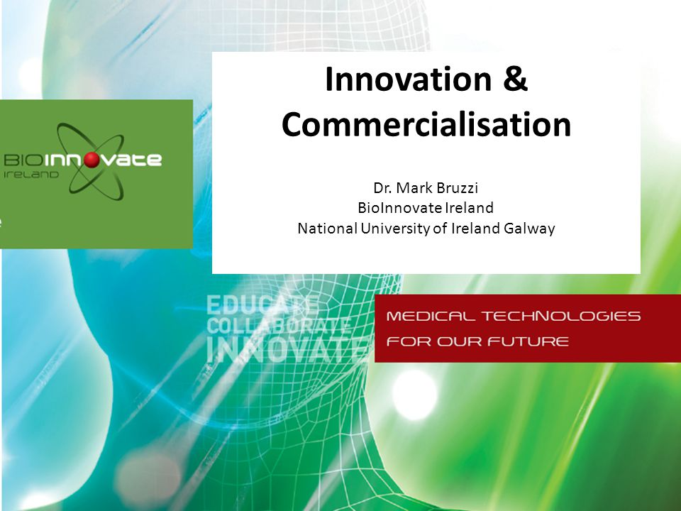 Innovation & Commercialisation