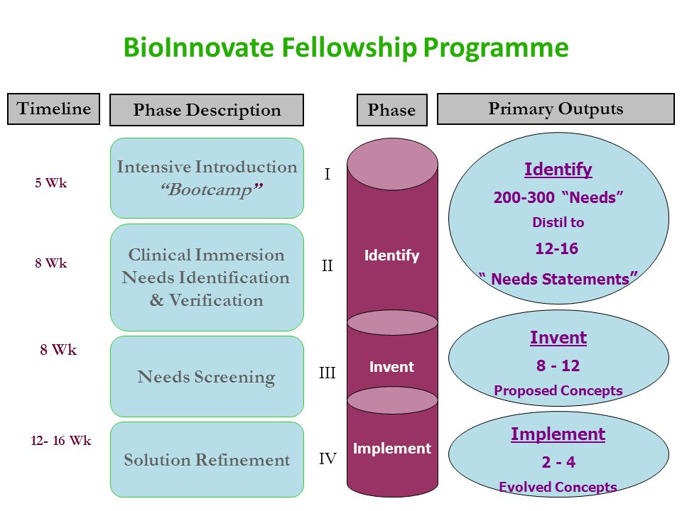 BioInnovate Fellowship Programme Intensive Introduction