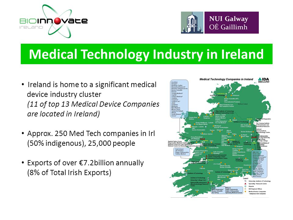 Medical Technology Industry in Ireland