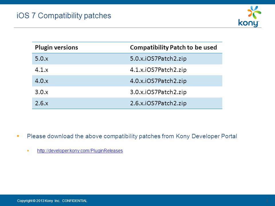 iOS 7 Compatibility patches