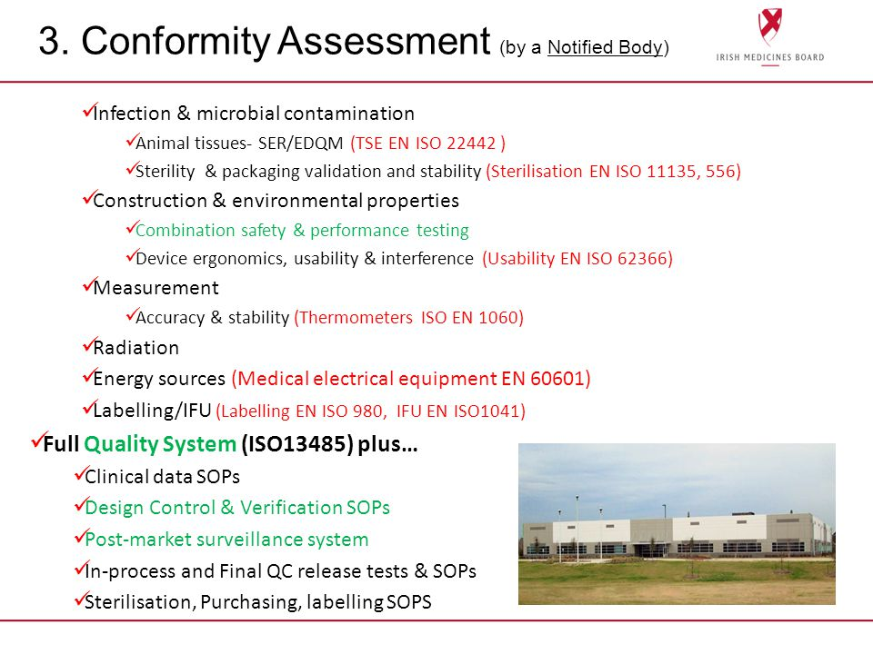 3. Conformity Assessment (by a Notified Body)