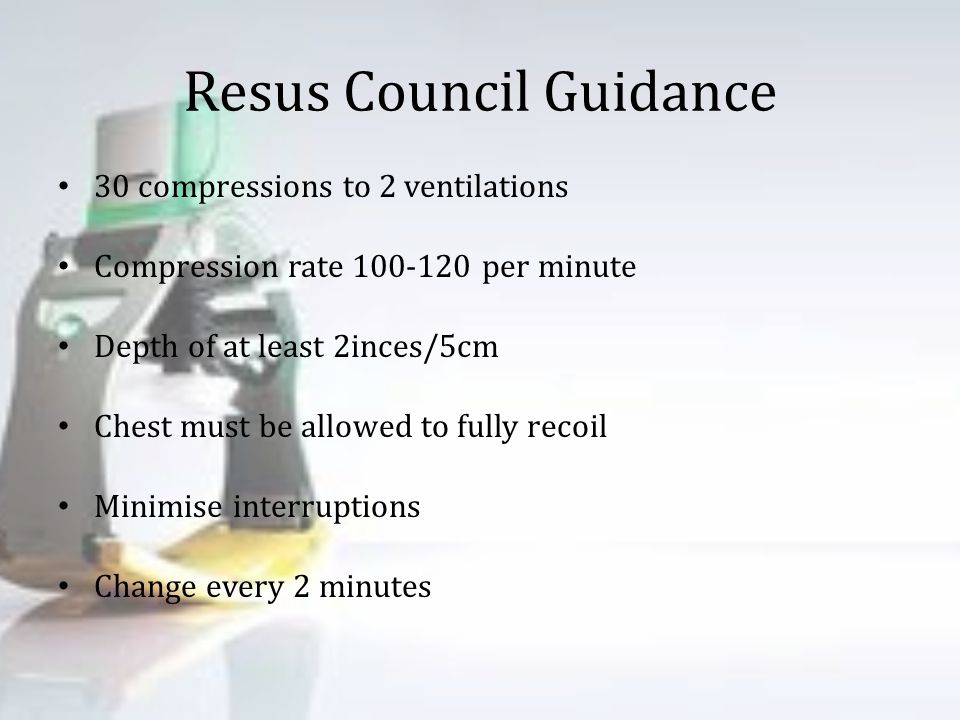 Resus Council Guidance