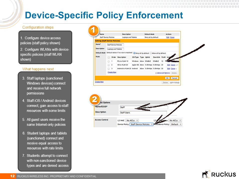 Device-Specific Policy Enforcement