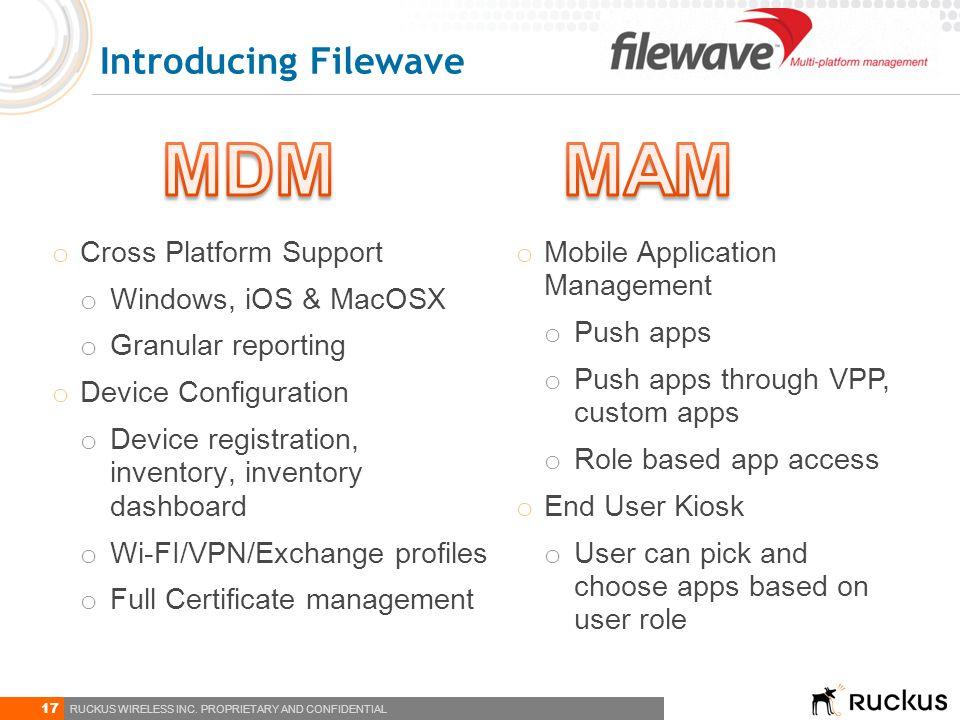 MDM MAM Introducing Filewave Cross Platform Support