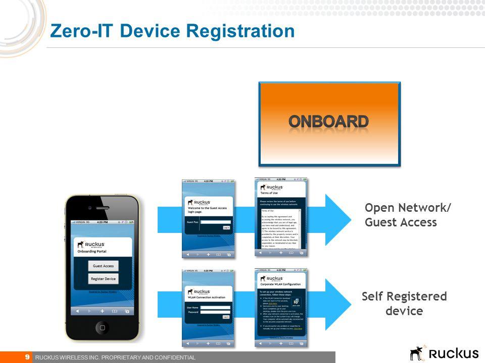 Zero-IT Device Registration