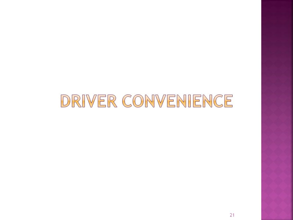 Driver Convenience EOBR systems have significant differences in terms of overall technical architecture and operational models . . .