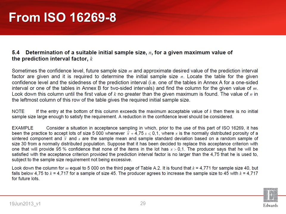 From ISO 16269-8