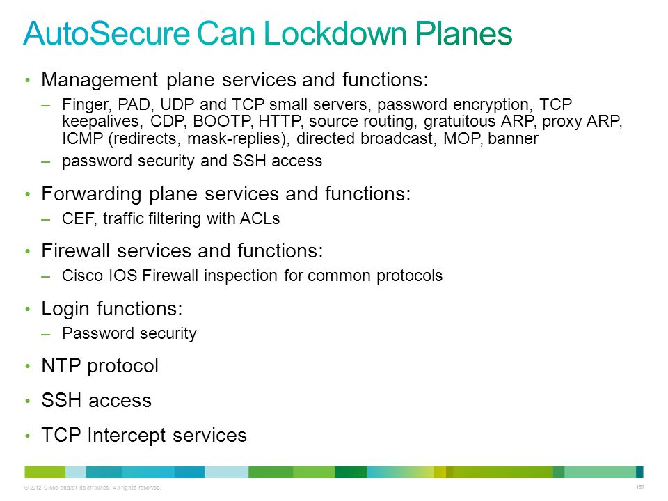 AutoSecure Can Lockdown Planes