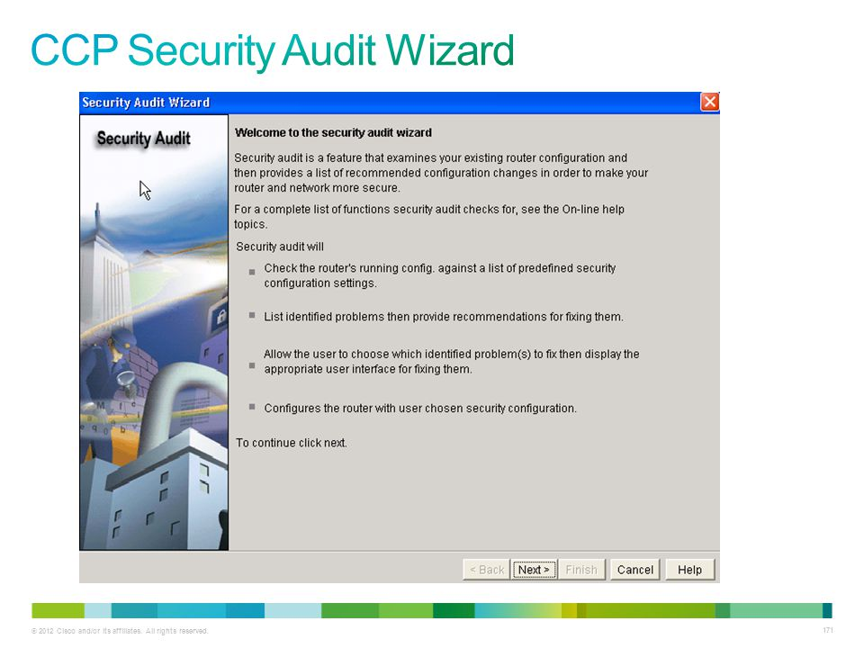 CCP Security Audit Wizard