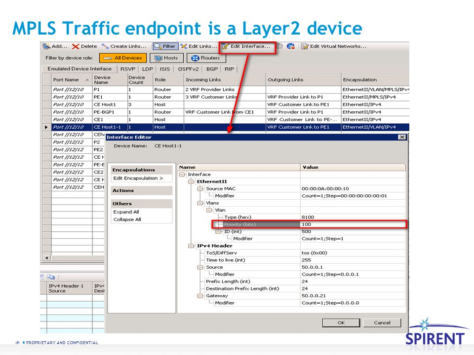 MPLS Traffic endpoint is a Layer2 device
