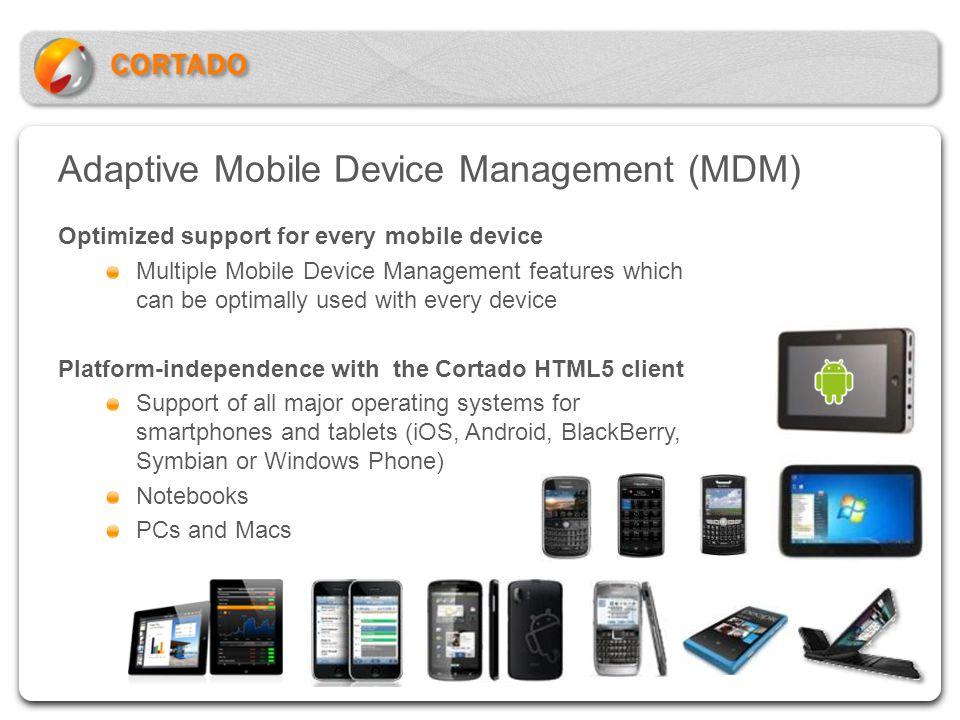Adaptive Mobile Device Management (MDM)
