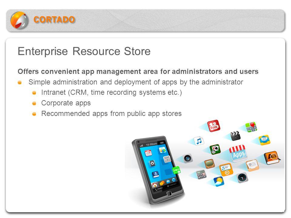Enterprise Resource Store