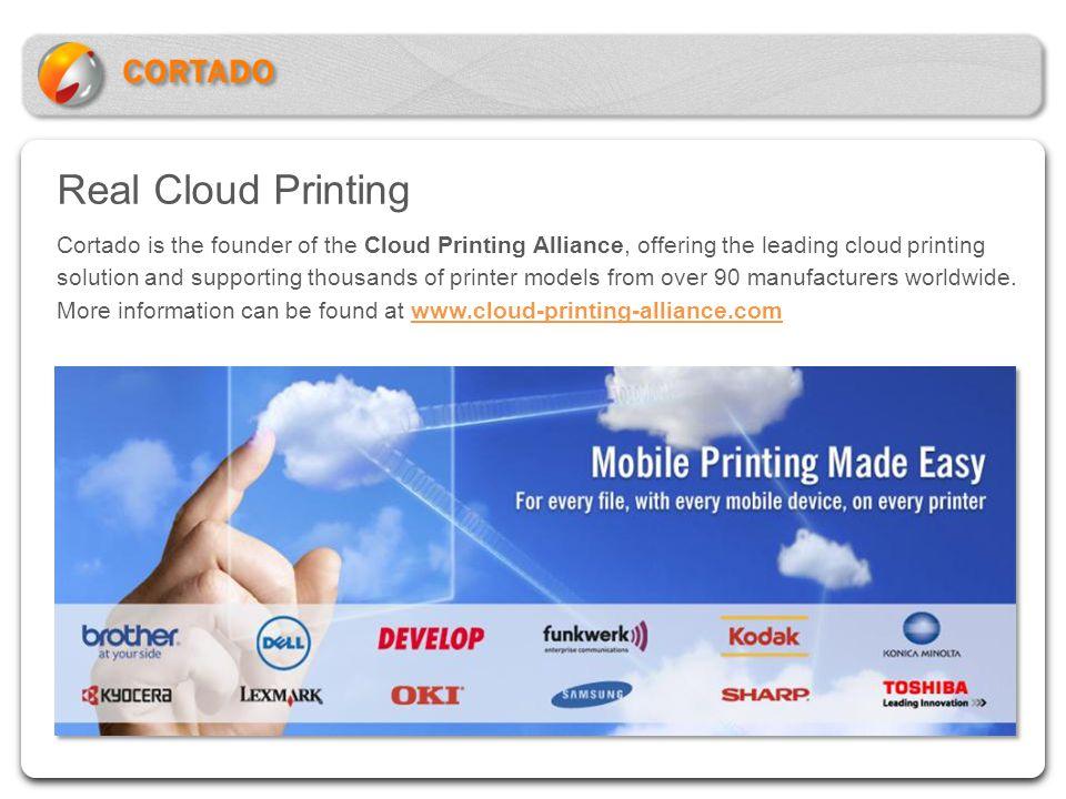 Real Cloud Printing