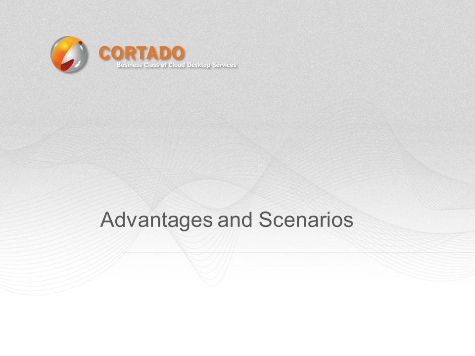 Advantages and Scenarios