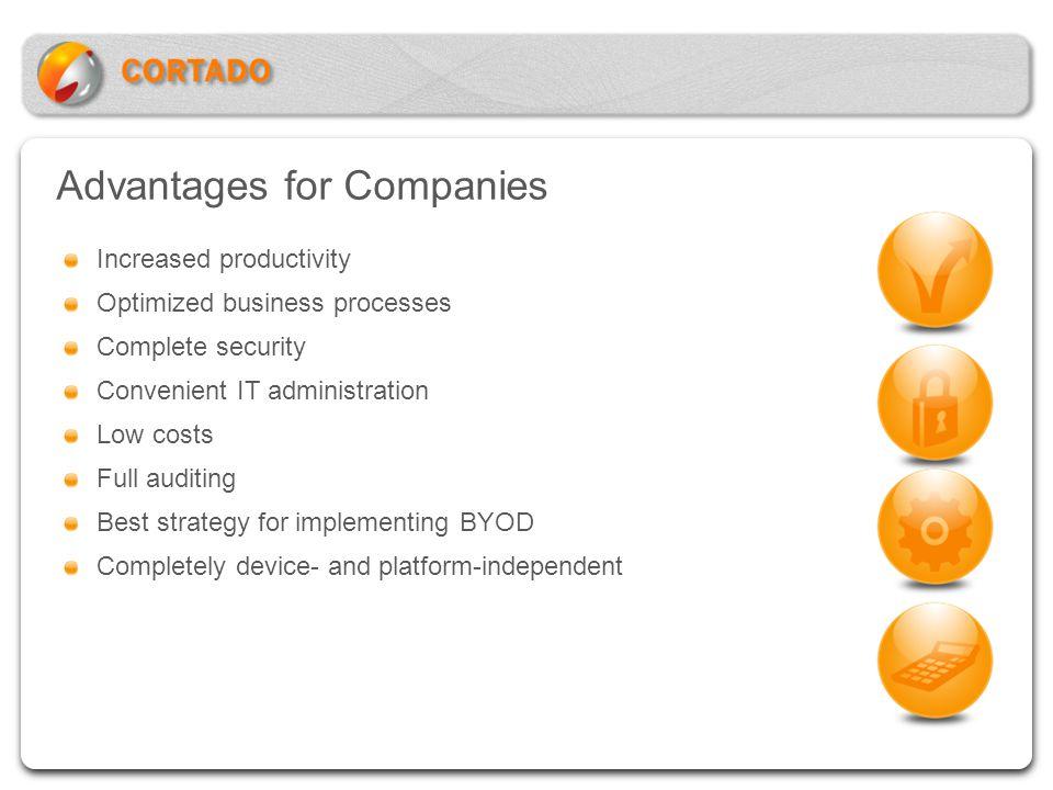 Advantages for Companies