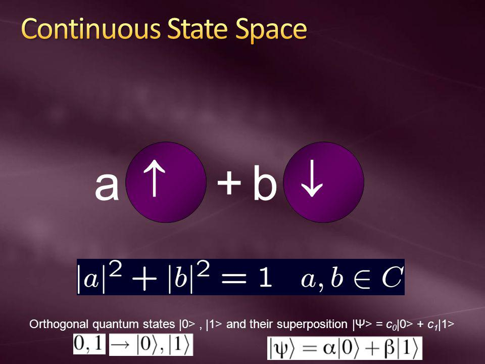 Continuous State Space