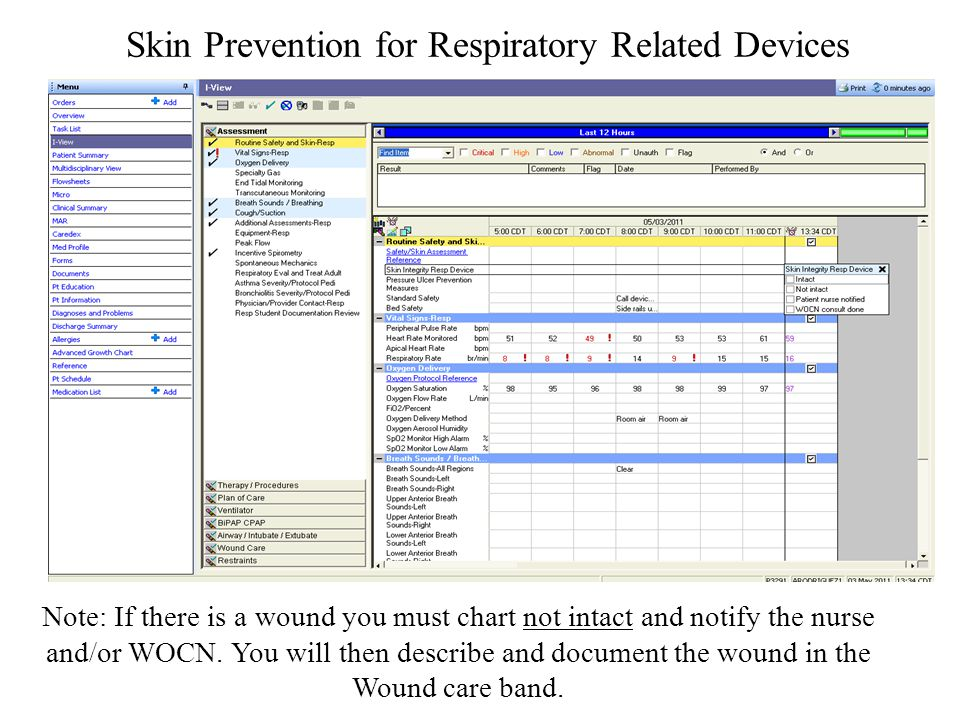 Skin Prevention for Respiratory Related Devices