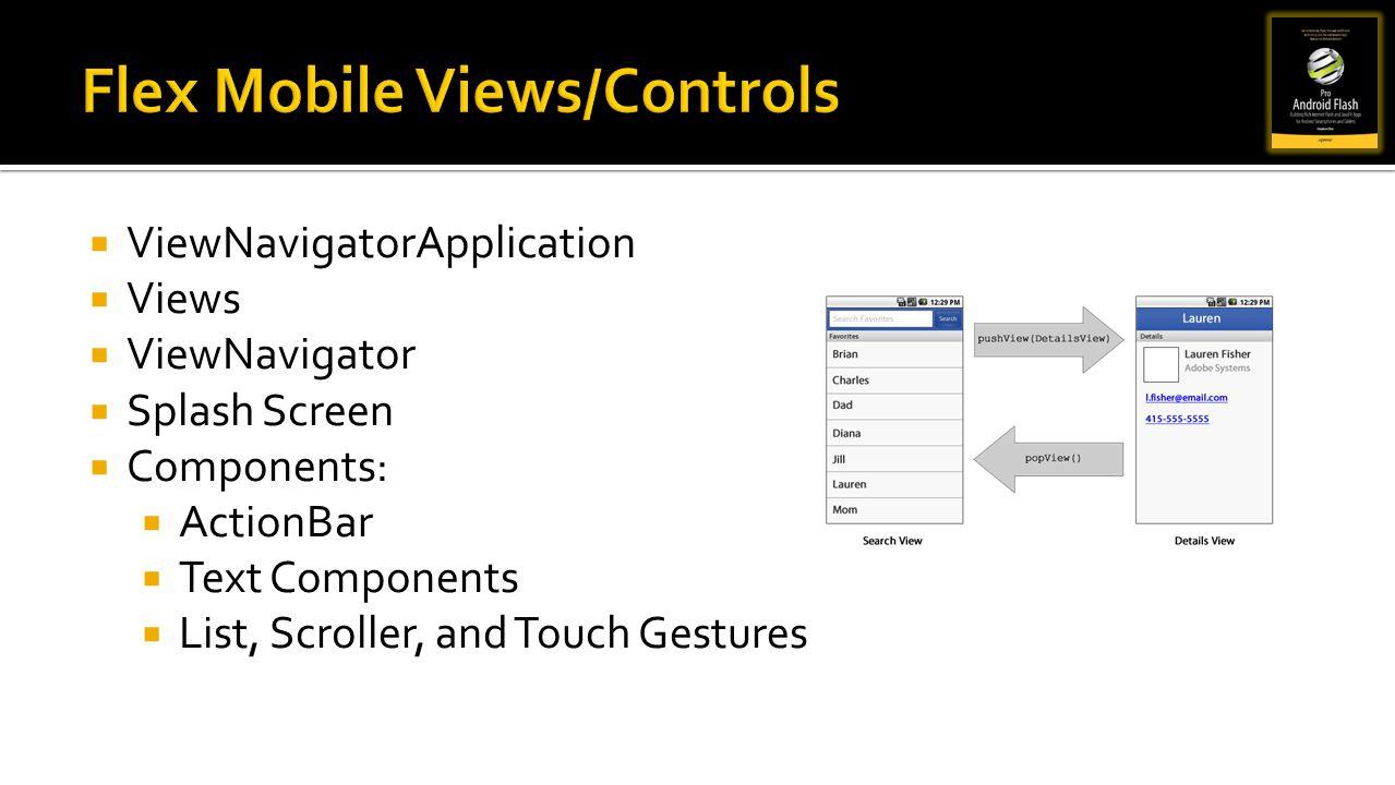 Flex Mobile Views/Controls