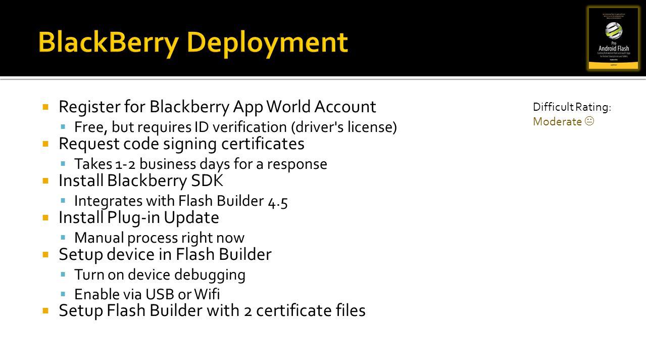 BlackBerry Deployment