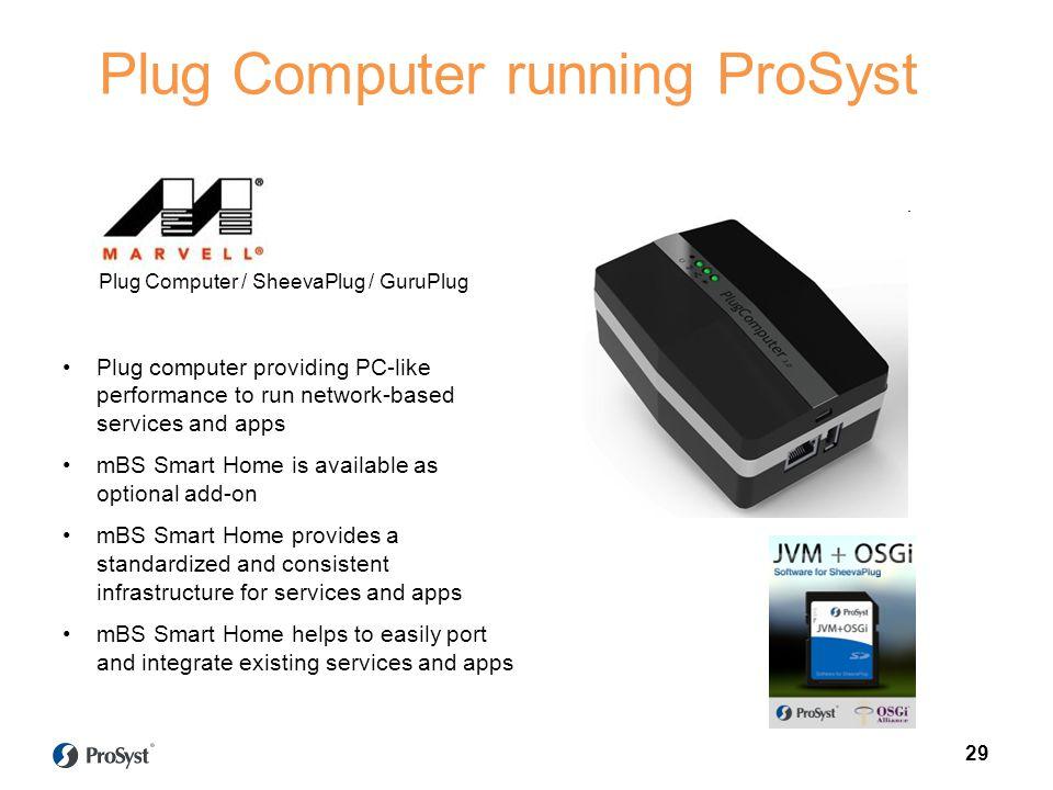 Plug Computer running ProSyst