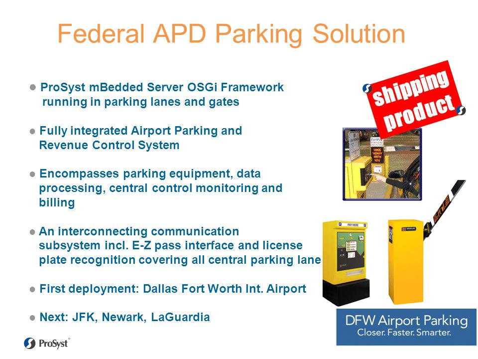 Federal APD Parking Solution