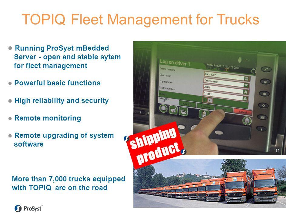 TOPIQ Fleet Management for Trucks