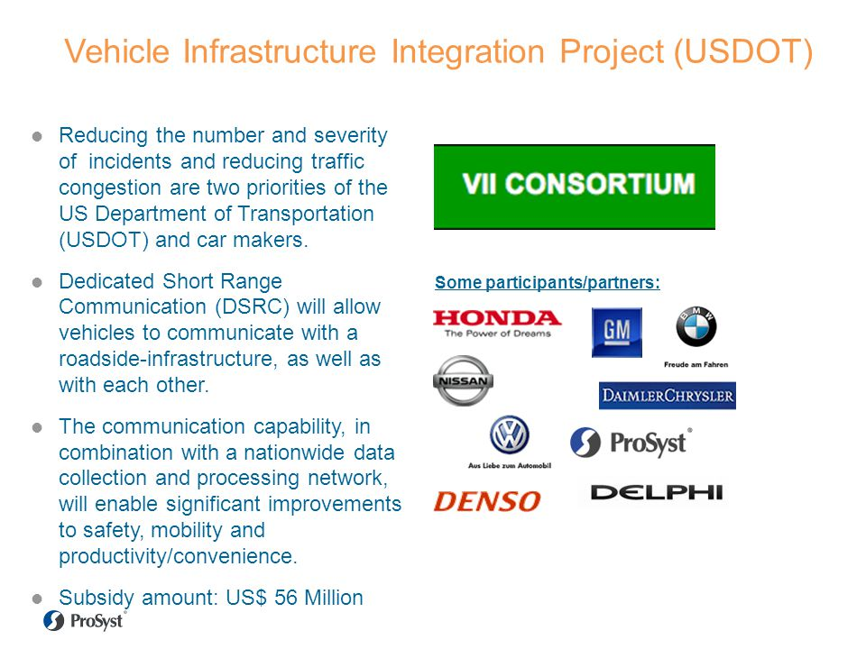 Vehicle Infrastructure Integration Project (USDOT)