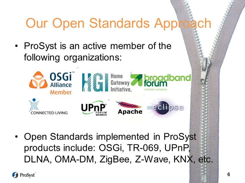 Our Open Standards Approach