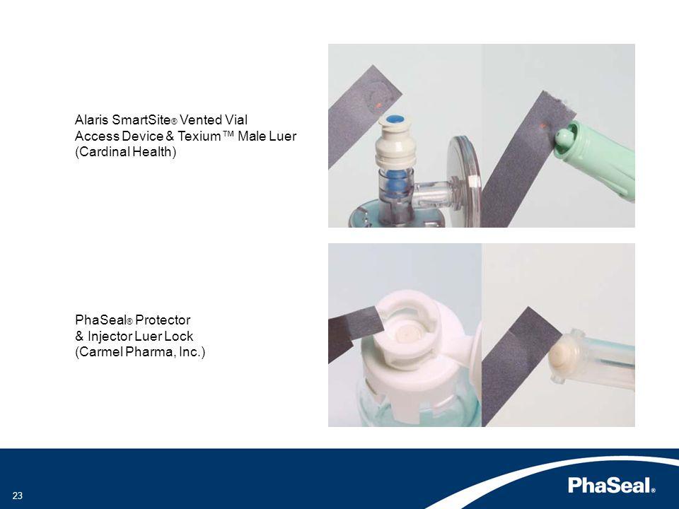 Alaris SmartSite® Vented Vial Access Device & Texium™ Male Luer