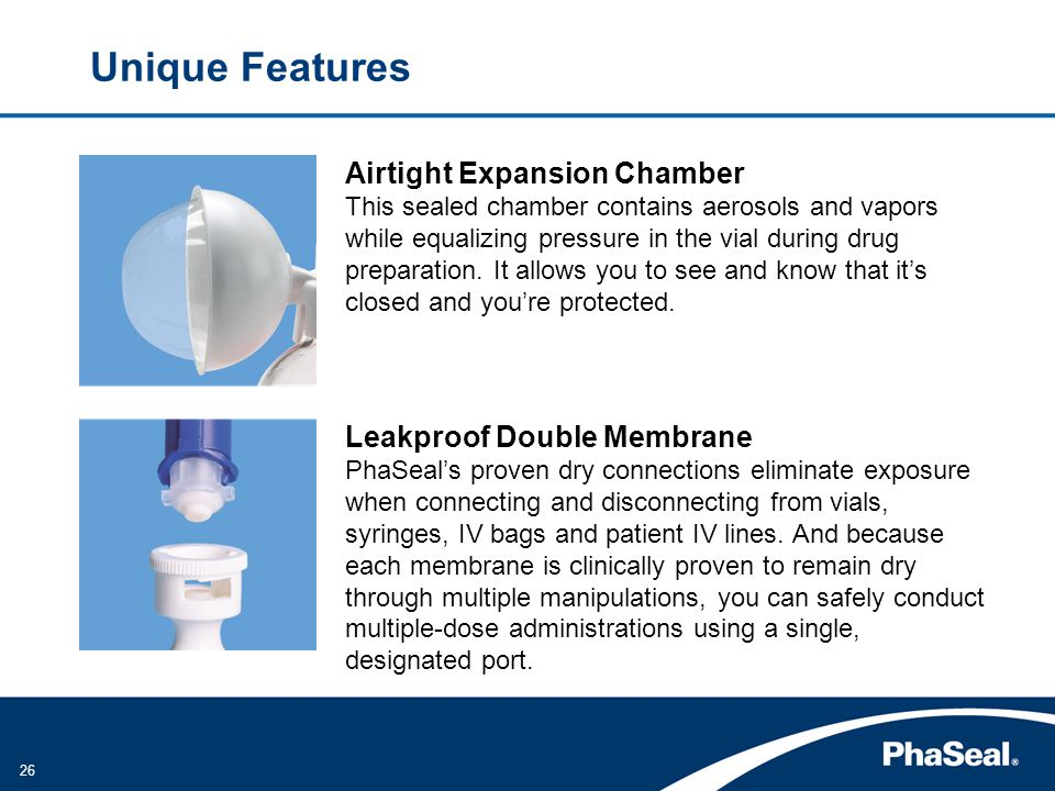 Unique Features Airtight Expansion Chamber Leakproof Double Membrane