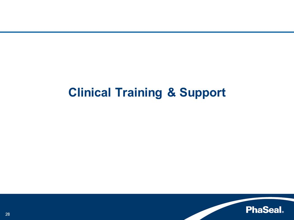 Clinical Training & Support