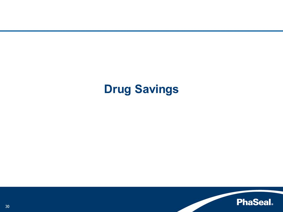 Drug Savings
