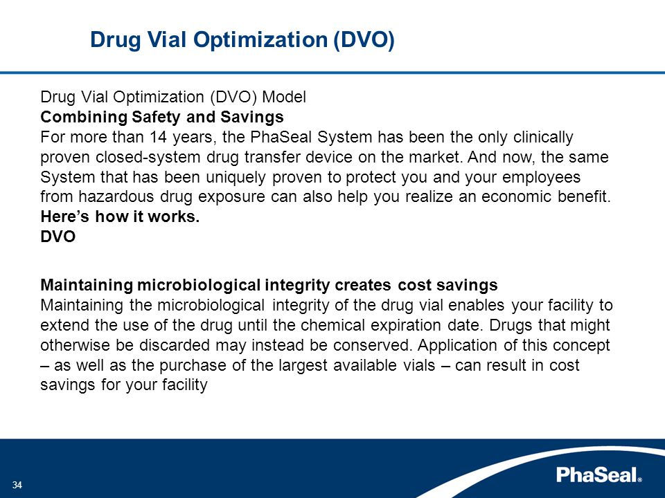 Drug Vial Optimization (DVO)