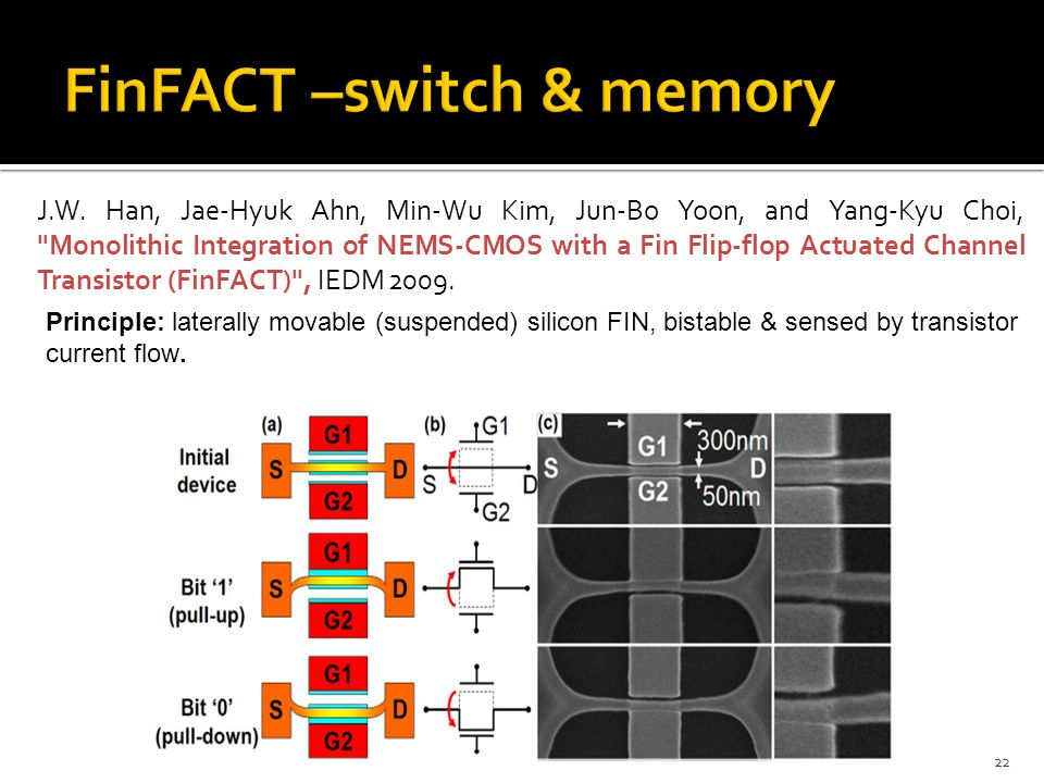 FinFACT –switch & memory