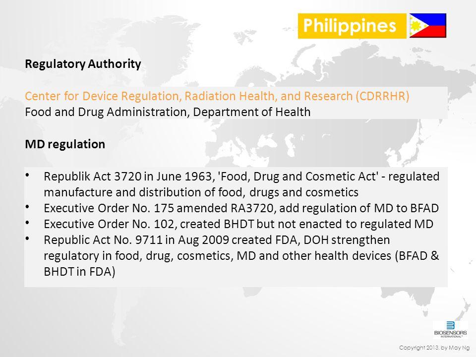 Philippines Regulatory Authority