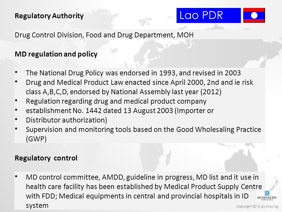 Lao PDR Regulatory Authority