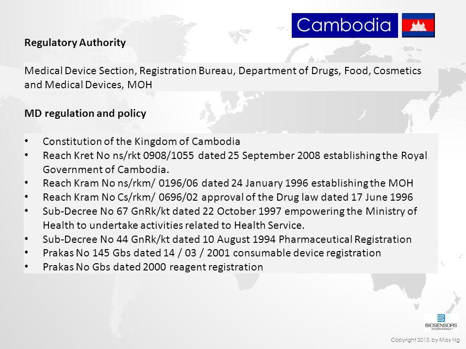 Cambodia Regulatory Authority