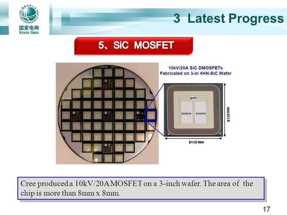 3 Latest Progress 5、SiC MOSFET