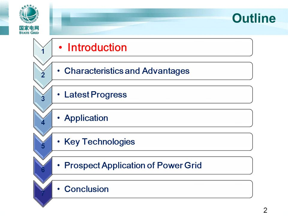 Outline Introduction Characteristics and Advantages Latest Progress